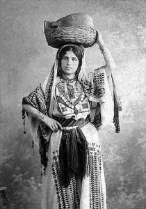 Jewish woman from what today is Israel in the 1800's