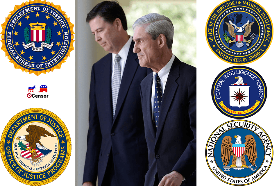 Corruption in our FBI, Justice and Intel Agencies