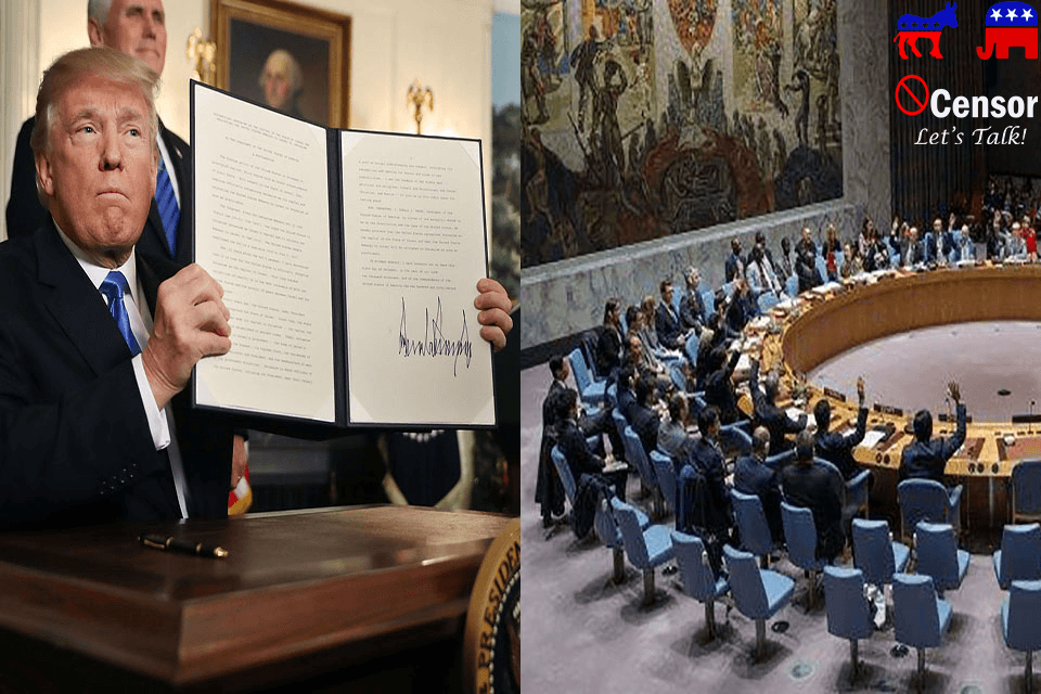 UN and Muslim Nations Trying to Force Change on Jerusalem
