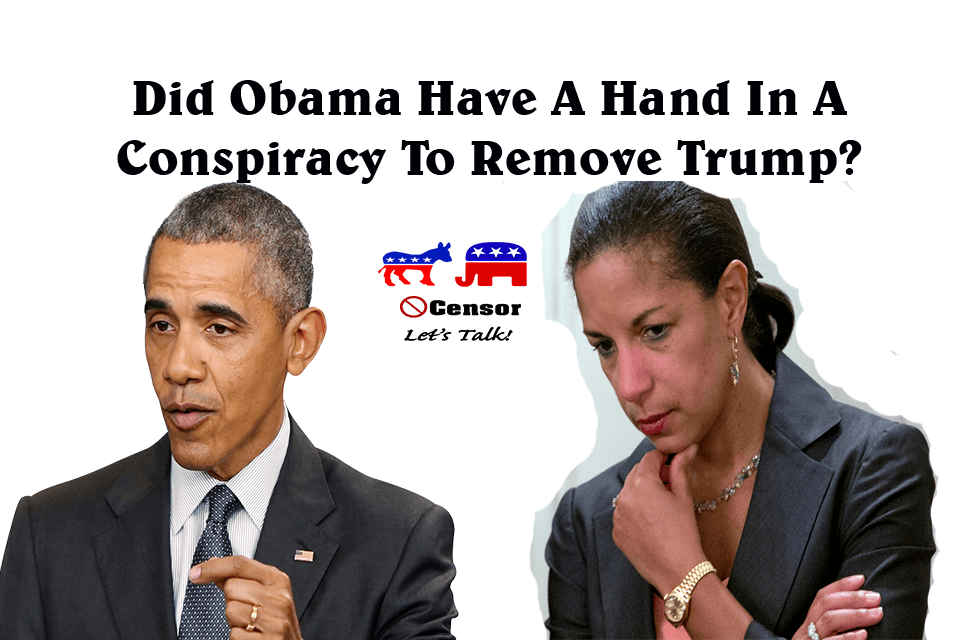 Did Obama Have A Hand In Conspiracy to Remove Trump?