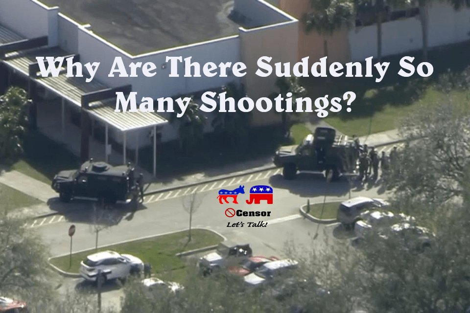 Why Are There Suddenly So Many Shootings?