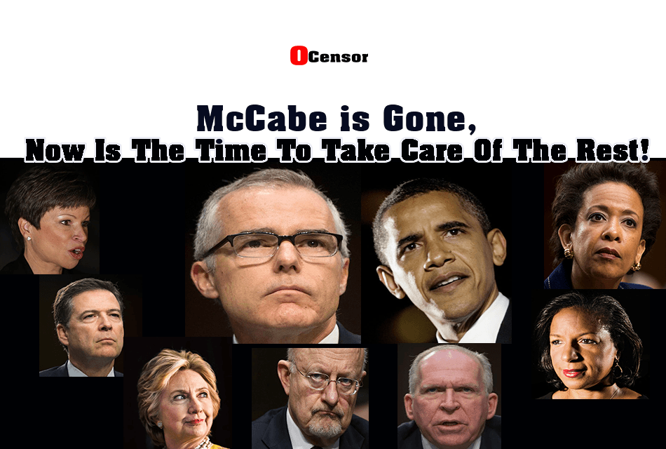McCabe is Gone, Now Is The Time To Take Care Of The Rest!