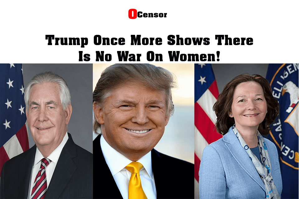 Trump Once More Shows There  Is No War On Women!