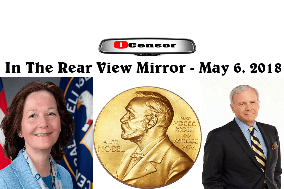 In The Rear View Mirror – May 6, 2018