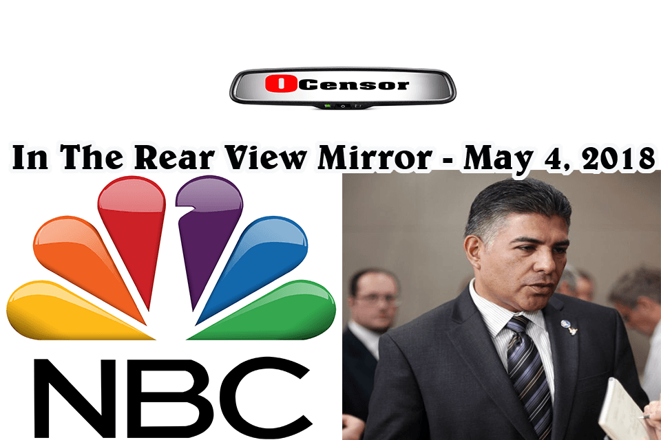 In The Rear View Mirror – May 4, 2018