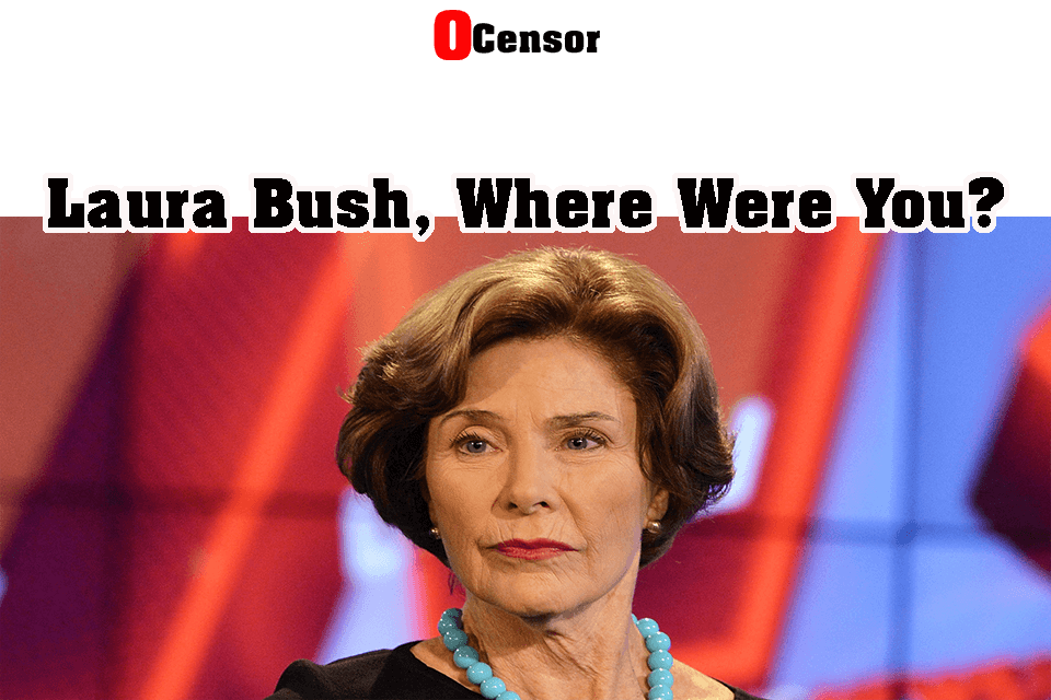 Laura Bush, Where Were You?