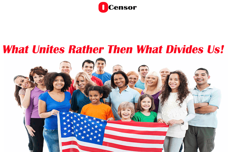 What Unites Rather Then What Divides Us