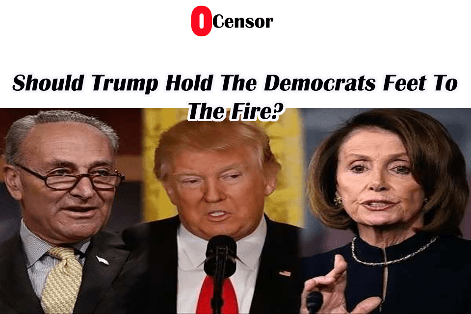 Should Trump Hold The Democrats Feet To The Fire?