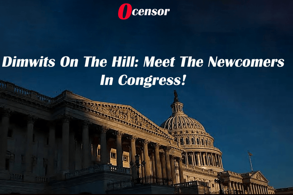 Dimwits on the Hill: Meet The Newcomers In Congress!