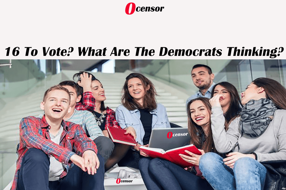 16 To Vote? What Are The Democrats Thinking?