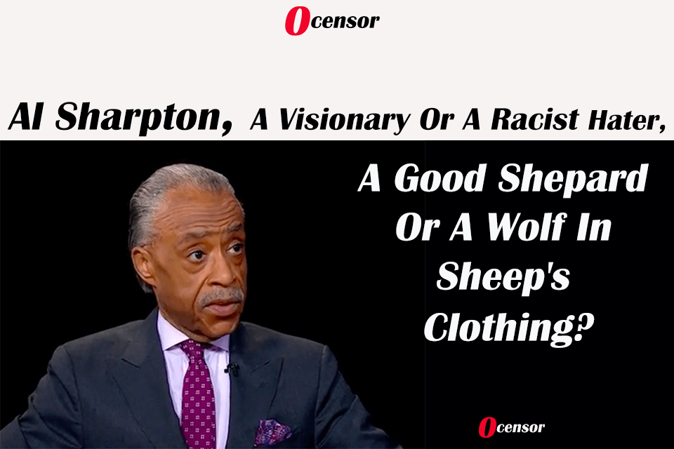 Al Sharpton, A Visionary Or A Racist Hater, A Good Shepard Or A Wolf In Sheep's Clothing?