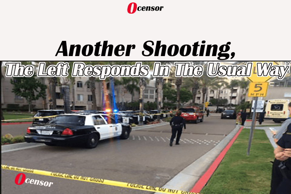 Another Shooting, The Left Responds In The Usual Way