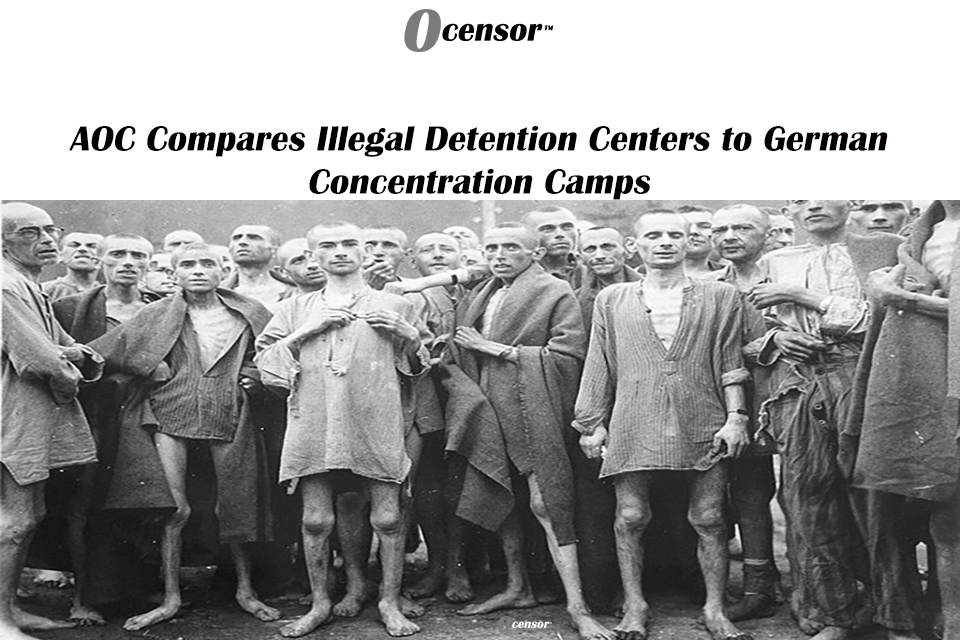 AOC Compares Illegal Detention Centers to German Concentration Camps