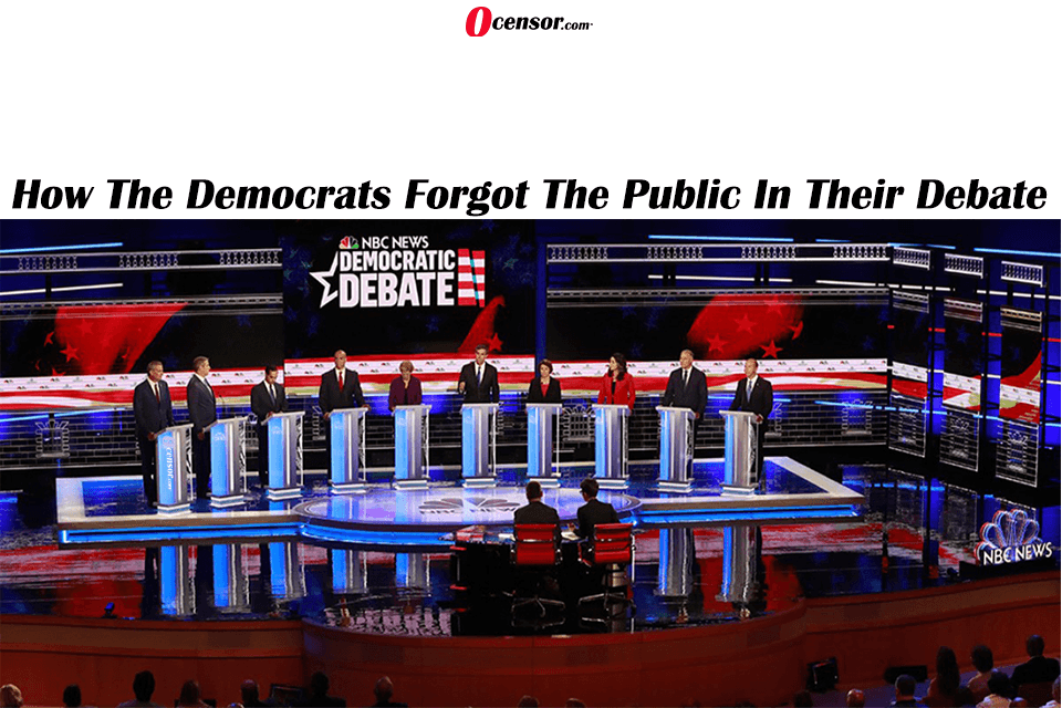 How The Democrats Forgot The Public In Their Debate