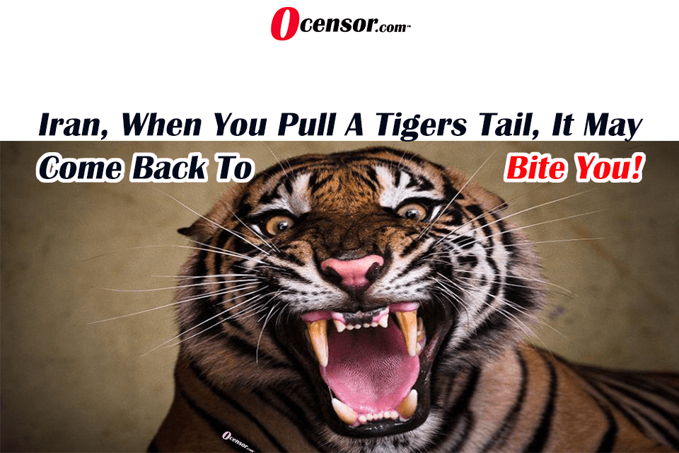 Iran, When You Pull A Tigers Tail, It May Come Back To Bite You!