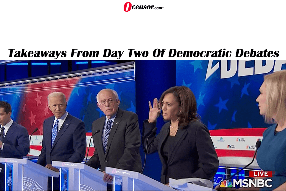 Takeaways From Day Two Of Democratic Debates