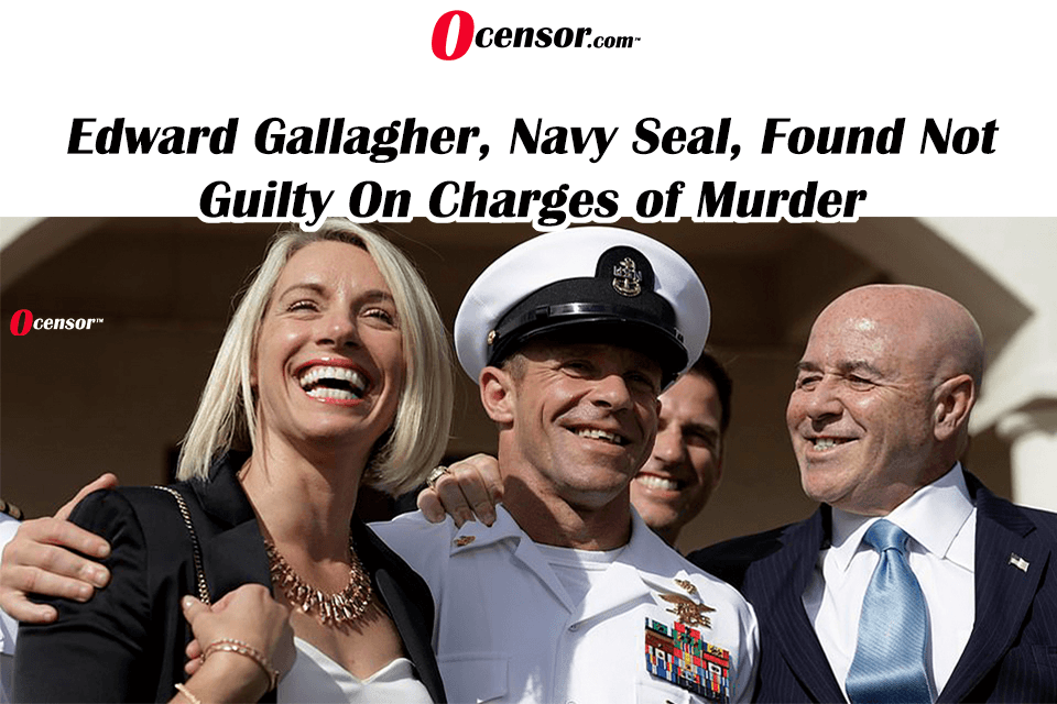 Edward Gallagher, Navy Seal, Found Not Guilty On Charges of Murder
