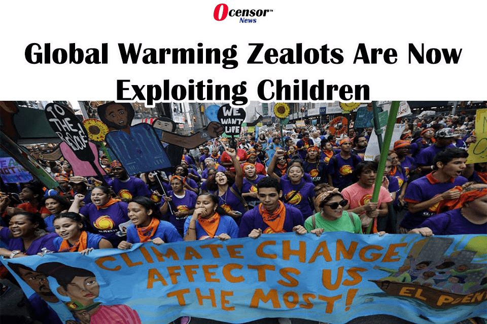 Global Warming Zealots Are Now Exploiting Children
