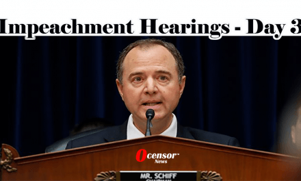 Impeachment Hearings – Day 3