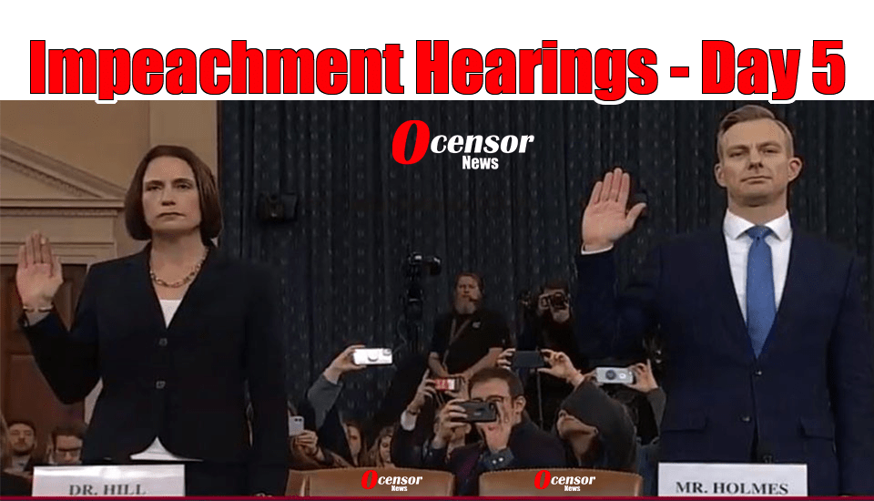 Impeachment Hearings – Day 5