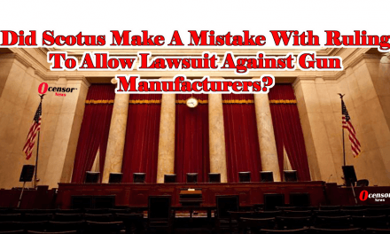 Did Scotus Make A Mistake With Ruling To Allow Lawsuit Against Gun Manufacturers?
