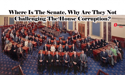 Where Is The Senate, Why Are They Not Challenging The House Corruption?