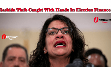 Rashida Tlaib Caught With Hands In Election Finances