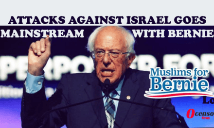 Attacks Against Israel Goes Mainstream With Bernie