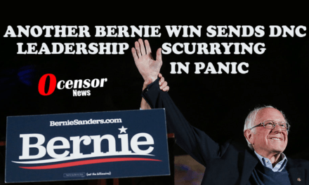 Another Bernie Win Sends DNC Leadership Scurrying In Panic