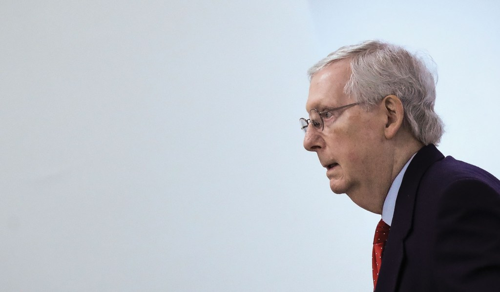McConnell Challenges Dems to Explain Why They're Holding Up Coronavirus Bill Over Special Interest 'Wish List'