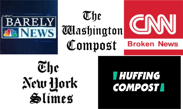 The Liberal Media's Credibility Crashes