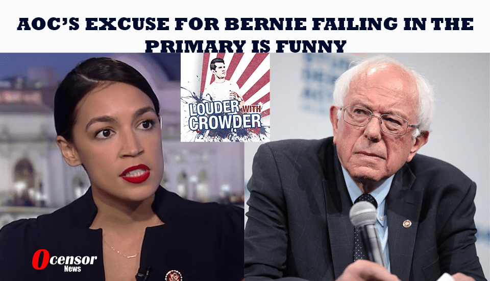 AOC's Excuse for Bernie Failing in the Primary Is Funny [VIDEO]