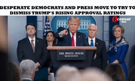 Desperate Democrats and Press Move to Try To Dismiss Trump's Rising Approval Ratings