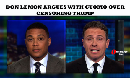 Don Lemon Argues With Cuomo Over Censoring Trump