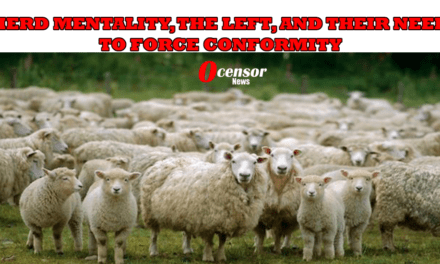 HERD MENTALITY, THE LEFT, AND THEIR NEED TO FORCE CONFORMITY