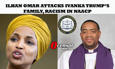 Ilhan Omar Attacks Ivanka Trump's Family, Racism In NAACP