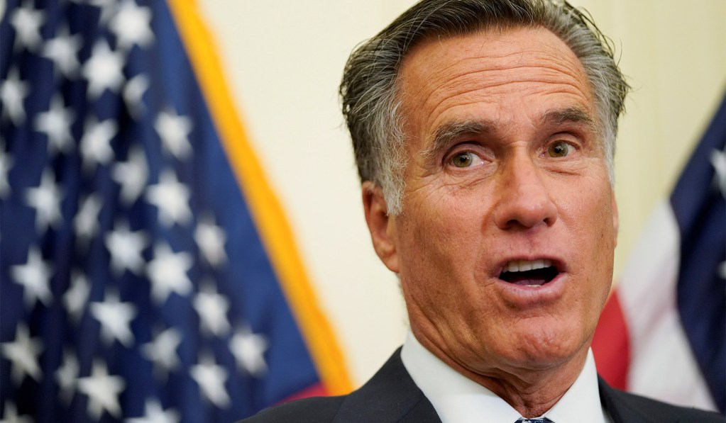 Romney Suggests One-Time $1000 Payment to Every American to Help Offset Coronavirus Impact