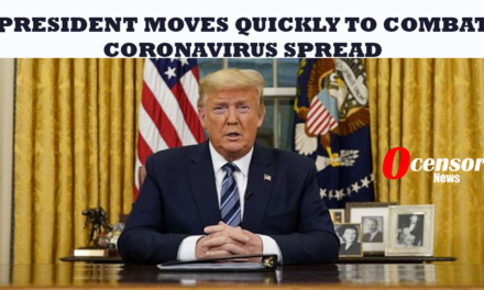 President Moves Quickly To combat Coronavirus Spread