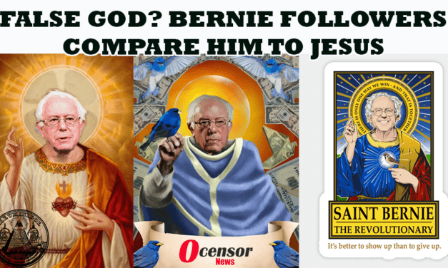 False God? Sanders Followers Compare Him to Jesus