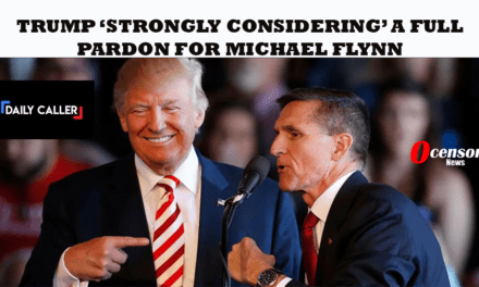 Trump 'Strongly Considering' A Full Pardon For Michael Flynn