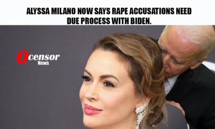 Alyssa Milano Now Says Rape ACcusations Need Due Process With Biden.