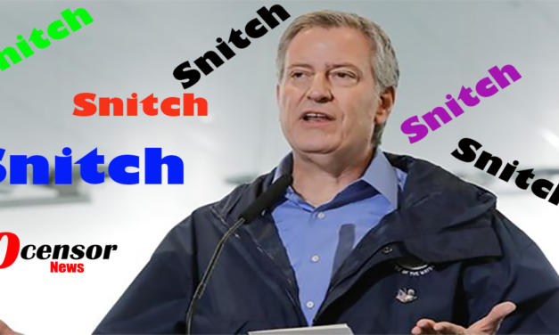 De Blasio's Snitch line Goes Terribly wrong!